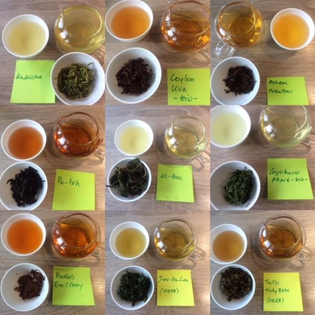 Tea-beerpairing