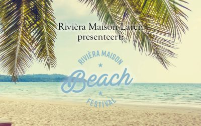 Workshop met thee Riviera Maison beachfestival 2018